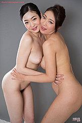 Naked Girls Embracing