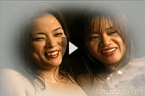 Aki Tomozaki And Mayumi Kusunoki Fondling Their Big Breasts